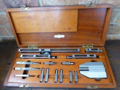 "A Super ""Gage Block Holder Set"" by Pitter Gauge & Tool Co Ltd in Case"