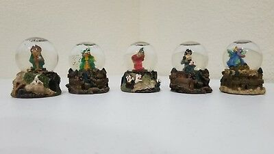 K's Collection Mystic and Magic snow globes set of 5