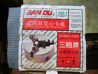 K11-100 Lathe Chuck 3-Jaw Self Centreing - Brand New - Unwanted Gift