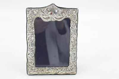 Vintage 1975 Hallmarked Sheffield Solid Silver Photograph Frame (247g)