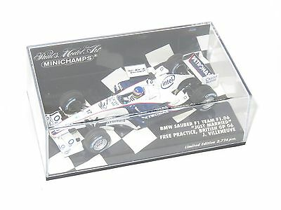 1/43 BMW Sauber F1 Team F1.06  British GP 2006 J.Villeneuve  Just Married Livery