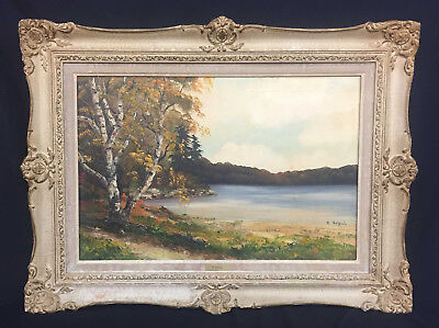 Rose Schul Canadian Artist - 1922-2010 - Original Oil Painting - Framed