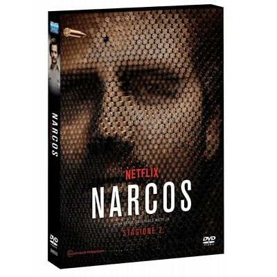 Cofanetto Narcos - Stagione 02 (Special Edition O-Card) (4 Dvd) Serie Tv-393488