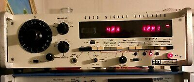 Rare 3M Industrial Instrumentation, 6110 Signal Analyzer