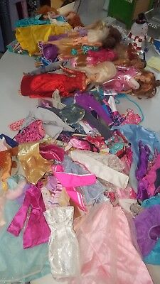 Huge Barbie Lot, Clothing, Dolls, Shoes And More!