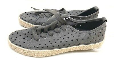 5731c81bea5d Women's Jena Espadrille Lace Up Sneakers - Universal Thread Gray Size 11 NEW