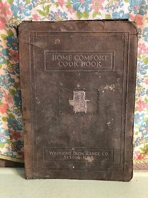 Vintage Home Comfort Cookbook 1920s Recipes Wrought Iron Range Co Housewife