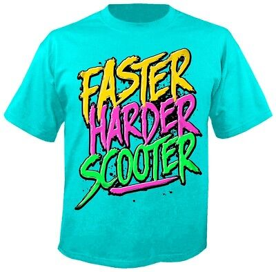 SCOOTER - Faster Harder Scooter - T-Shirt