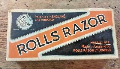 Rolls Razor Imperial No. 2 with Box and Original Paperwork