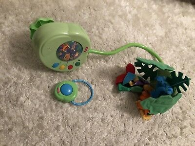 Fisherprice Rainforest Cot Mobile With Remote And Box