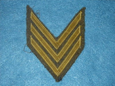 Original WWI US Army Overseas Service Stripes - Wool - Ribbed Tape