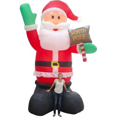 New Christmas Christmas Inflatable Giant Santa Claus 5M By OZSALE