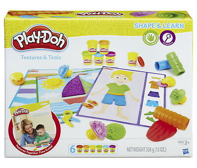 Play-Doh Shape and Learn Textures and Tools Kit