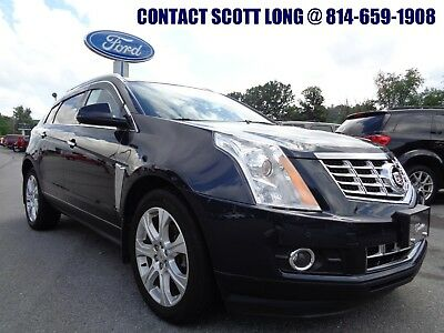 2014 Cadillac SRX 2014 SRX AWD Dark Blue Nav Moonroof 2014 Cadillac SRX AWD Performance Collection Heated Leather Navigation Sunroof