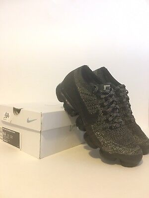 Nike Air Vapormax Flyknit Oreo/black Size 9.5 With Original Box -Used-