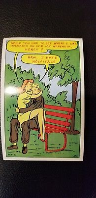 Funny Postcard By The Baxter Lane Co.