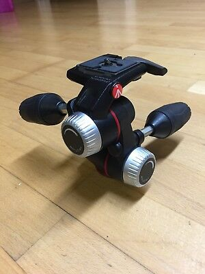 Manfrotto 3 Way Pan And Tilt Tripod Head MHXPRO-3W