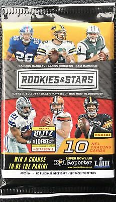 2018 Panini Rookies & Stars Guaranteed #d Rookie Auto Autograph Hot Pack Barkley