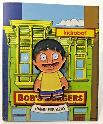Kidrobot Pins, Bobs Burgers, Pick Your Character, SALE, Enamel Pins, Hat Pins
