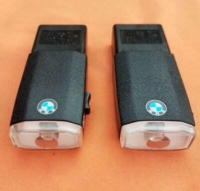 2X Bmw  E46 E90 E39 E60 E63 E65 Glove Box Rechargeable Flash Light Flashlight