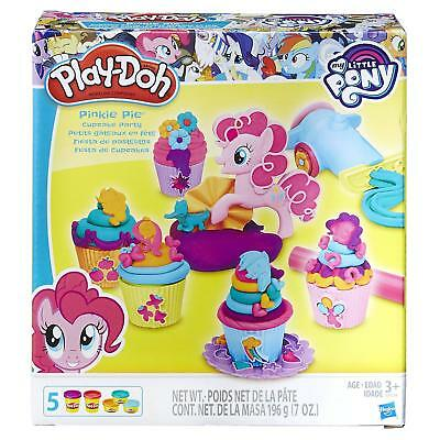 Play Doh - My Little Pony - Cupcake Party inc 5 Tubs, Frosting Cannon & Accs