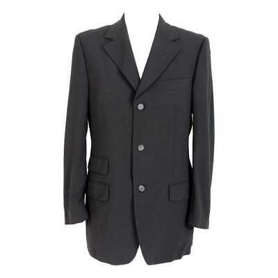 Tom Ford For Gucci Classic Jacket Wool Vintage Black