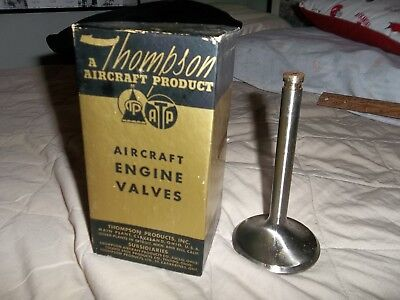 Lot of 4 vintage WW2 Thompson Aircraft intake valve NOS, in factory sealed boxes