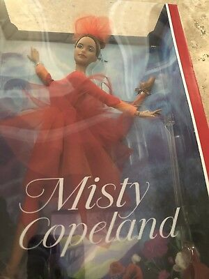 Misty Copeland Barbie Collection Doll Brand New In Box