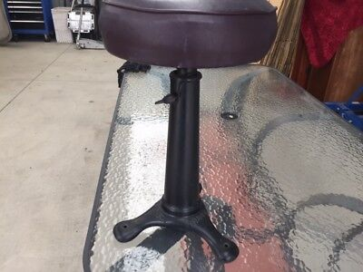 Original Antique Singer Stool Cast Iron
