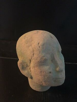 Rare Ancient Egyptian  Akhenaton Bust (1336 Bc-1324)