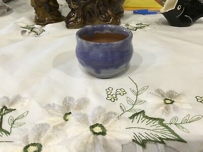 Beryl Armstrong Australian Pottery Glazed Bowl Signed - early Harvey School Arti