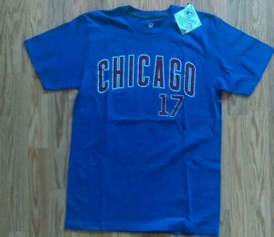 467380f5edf ... store kris bryant chicago cubs 17 t shirt med jersey style unique light  blue new 2190d
