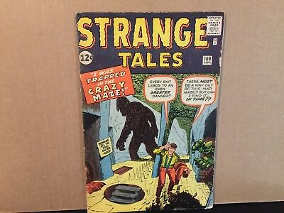 Strange Tales 100 Marvel Comics Silver Age 1962 Combine Shipping