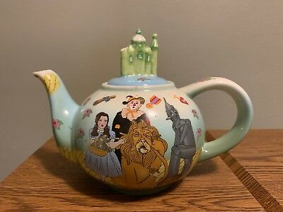 Cardew Design 2004 Wizard of Oz Teapot & Emerald City Lid the wizard of oz