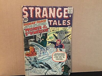 Strange Tales 103 Marvel Comics Silver Age Combine Shipping