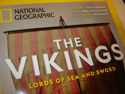 National Geographic Magazine The Vikings Lords of Sea and Sword, Masters of Cold