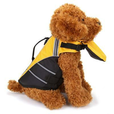 CozyCabin Life Jacket for Dogs - Pet Life Preserver Vest with Front Float - M