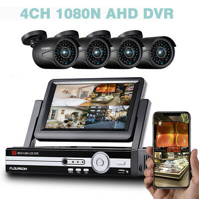 8CH 3000TVL 1080N HDMI DVR Camera CCTV Home Security Surveillance System Kit Set