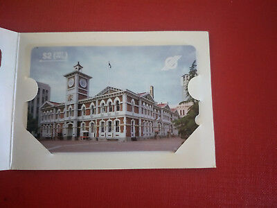 Mint New Zealand $2 Trial Issue Christchurch Post Office Phonecard in Pack
