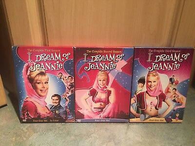 I Dream of Jeannie The Complete Series Seasons 1,2,3 on DVD