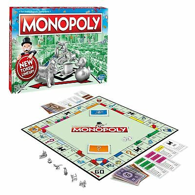 SEALED Monopoly Board Game Classic Complete New Family Edition
