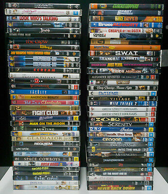 DVD Collection – Labyrinth, Fantastic Beasts, Despicable Me, The Terminator etc.