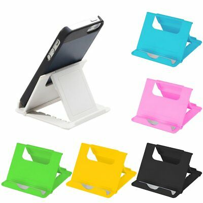 Portable Adjustable Folding Desk Table Stand Holder For Mobile Phone Tablet AS