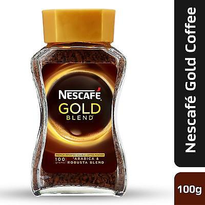 Nescafe Gold Blend Instant Coffee Powder, 100g Eden Jar, Free Shipping