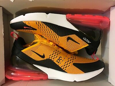 New Nike Air Max 270 Tiger University Gold Ah8050-004 Running Shoe Men Size 13