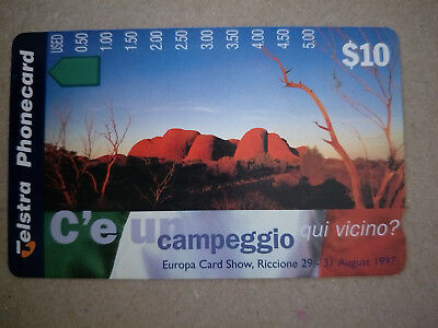 Mint $10 Olgas, NT Phonecard Prefix 1526  Progress Numbers at the Side only to$5