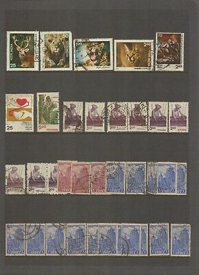 INDIA - Selection of Used POSTAGE Stamps