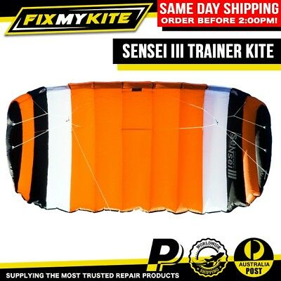 Tough Kitesurf Trainer Kite Relaunch 3M Sensei Iii Beginner Kiteboard Lessons