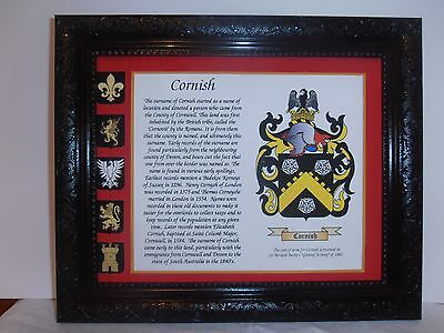 COATS OF ARMS FAMILY CRESTS GIFT MOST SURNAMES Expertly researched