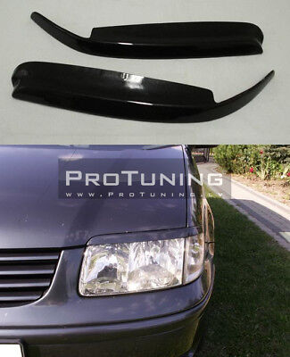 For VW Polo 6N2 Headlamp Covers Eyebrows Eyelid Masks